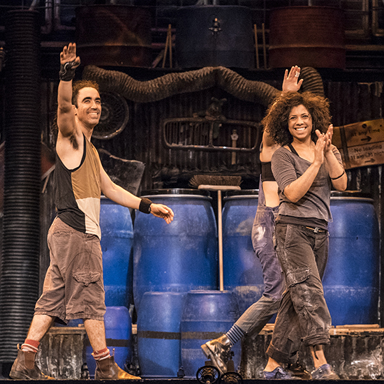 STOMP TO END 15 YEAR RUN IN LONDON'S WEST END